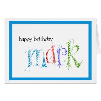 Cartes Marque de joyeux anniversaire