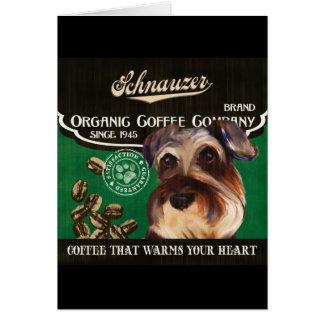 Cartes Marque de Schnauzer - Organic Coffee Company