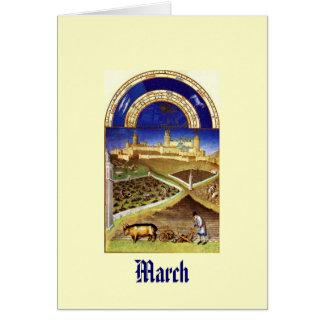 Cartes Mars - baie de Les Tres Riches Heures du Duc De