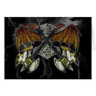 Cartes Marteau de Thor des guitares de dieux