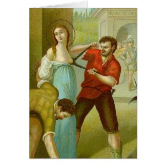 Cartes Martyre de St Agatha (M 003)