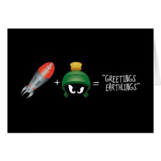 Cartes MARVIN l'équation de MARTIAN™ Emoji