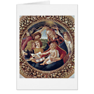 Cartes Mary, enfant du Christ et anges par Sandro