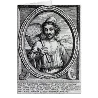 Cartes Masaniello, gravé par Petrus de Iode
