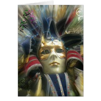Cartes Mascarade de couleurs