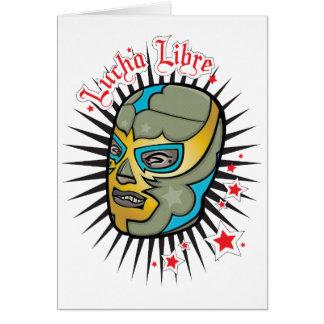 Cartes Masque de lutte mexicain de Lucha Libre