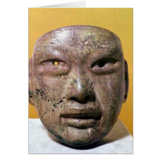 Cartes Masque funéraire, Olmec, du Mexique