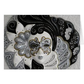 Cartes Masque vénitien