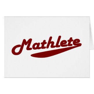 Cartes Mathlete