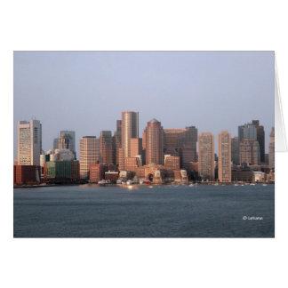 Cartes Matin de Boston--merci