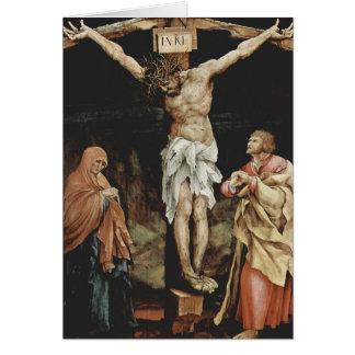 Cartes Matthias Grünewald- la crucifixion