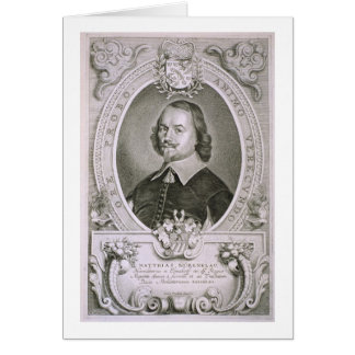 Cartes Matthias Mylonius Biorenklou (1607-71) de 'Portr