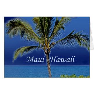 Cartes Maui Hawaï