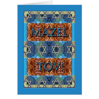 Cartes Mazel Tov ! Félicitations sur la barre Mitzvah,