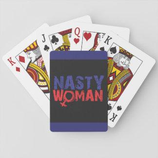 Cartes MÉCHANTES de femme Cartes À Jouer