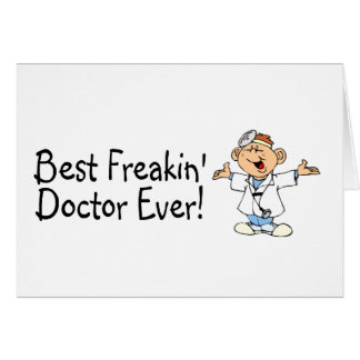Cartes Meilleur docteur Ever de Feakin