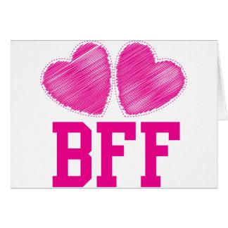 Cartes Meilleurs amis de BFF pour toujours ! ! !