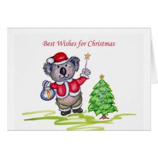 Cartes Meilleurs voeux pour Noël