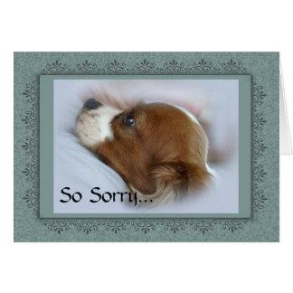 Cartes Mémorial de perte d'animal familier