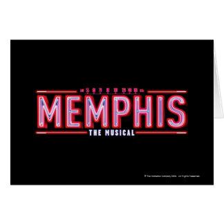 Cartes MEMPHIS - le logo musical