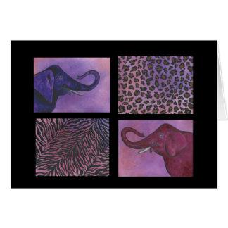 Cartes Ménagerie d'éléphant