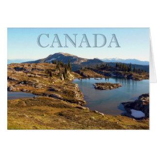 Cartes Mer de montagne dans britannique les Columbia