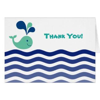 Cartes Merci de baleine