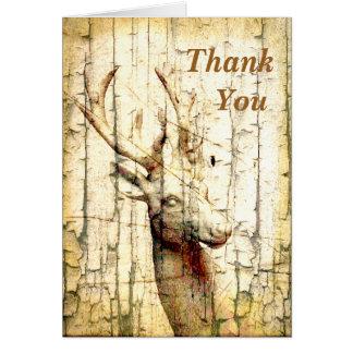 Cartes Merci de cerfs communs