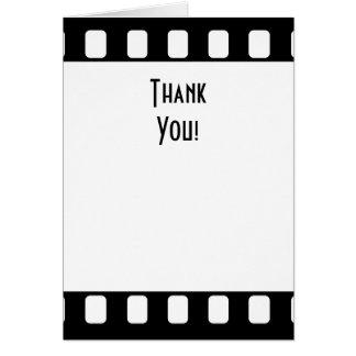 Cartes Merci de film de 35mm