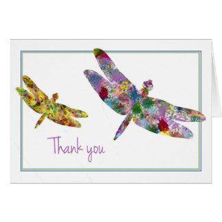 Cartes Merci de libellule