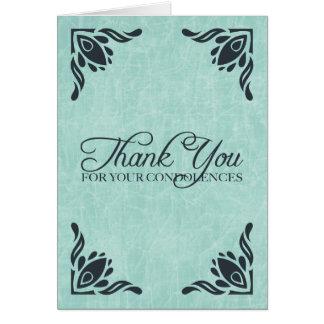 Cartes merci de vos condoléances