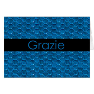 Cartes Merci en italien Grazie