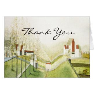 Cartes Merci - ferme avec du charme