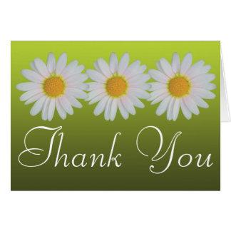Cartes Merci floral d'amusement coloré de photo de