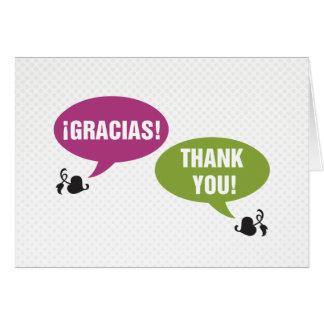 Cartes Merci - Gracias