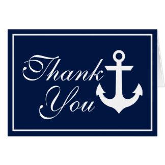 Cartes Merci nautique