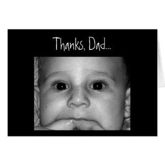 Cartes Merci, papa…
