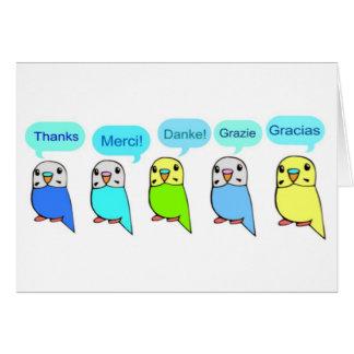 Cartes Merci-perruches
