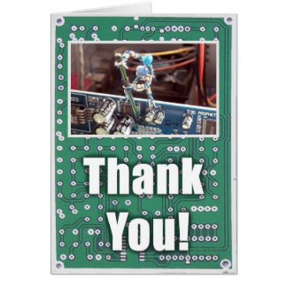 Cartes Merci pour fixer mon ordinateur (Gremlins)