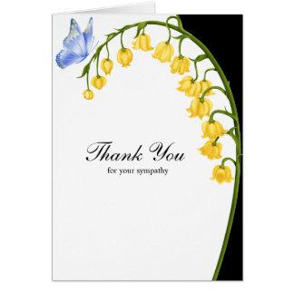 Cartes Merci pour votre sympathie
