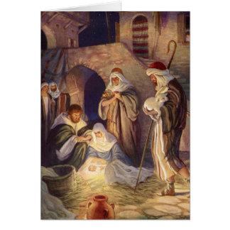 Cartes Merci vintage de Noël