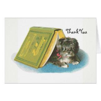 Cartes Merci - Yorkshire Terrier - Yorkie - livre