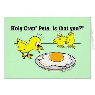 Cartes Merde sainte ! Peter, est que vous ?