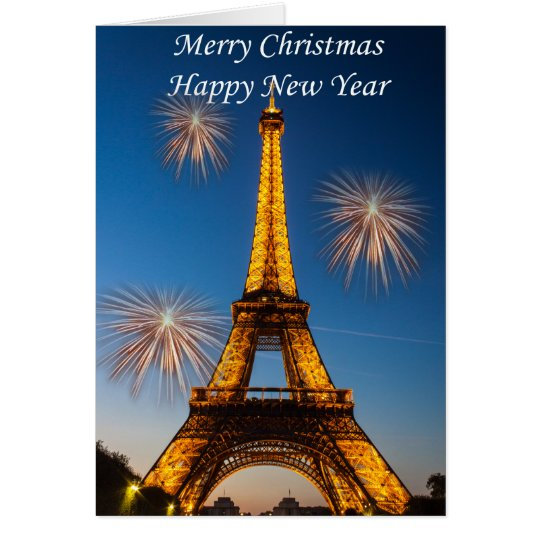 Cartes Merry Christmas Happy New Year #1
