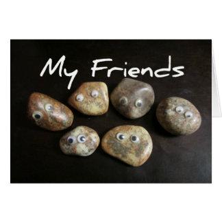 Cartes Mes amis sont des roches