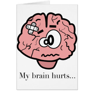 Cartes Mes maux de cerveau