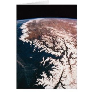 Cartes Mettez à la terre de l'espace 14