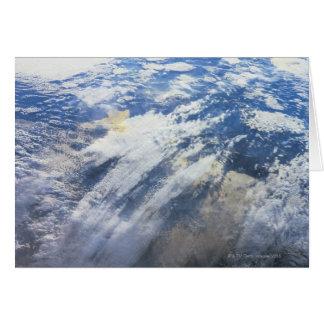 Cartes Mettez à la terre de l'espace extra-atmosphérique