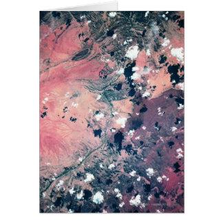 Cartes Mettez à la terre du satellite 7