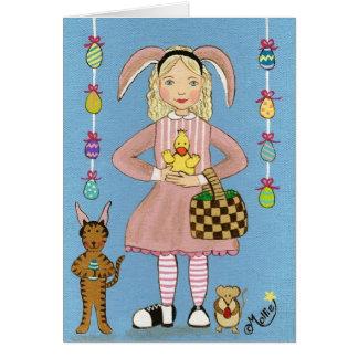 Cartes Mettez dessus vos oreilles de lapin !